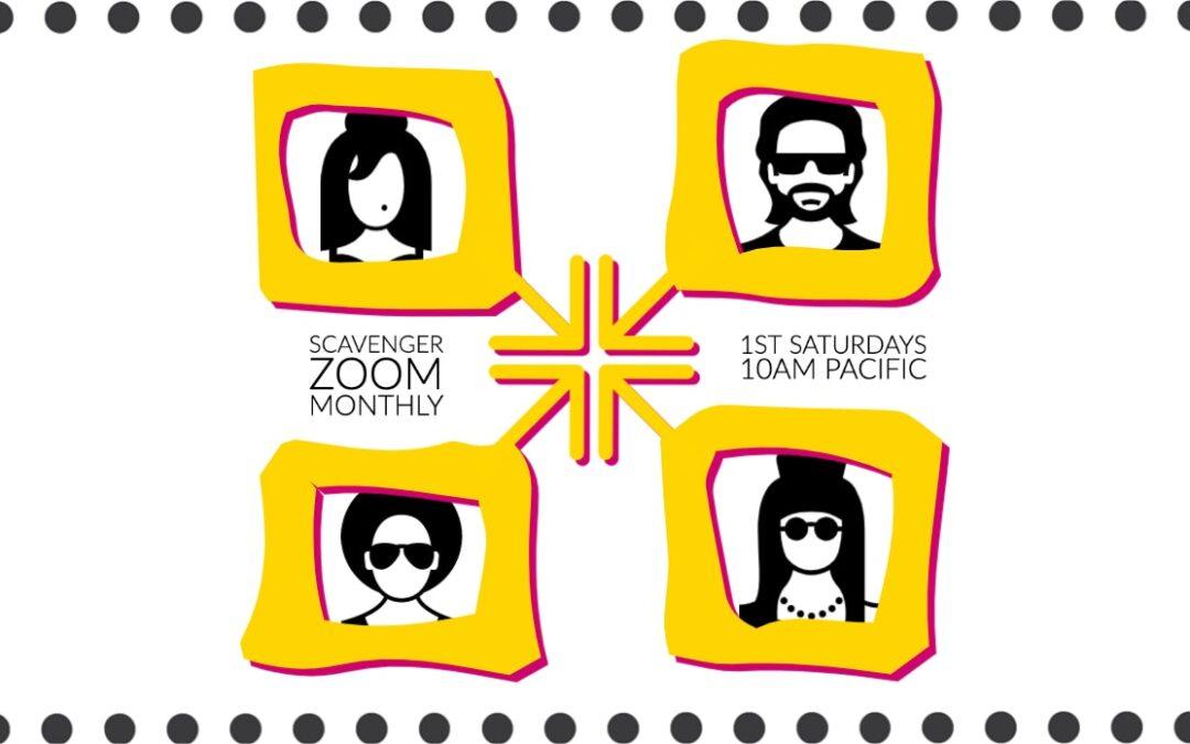 August Zoom Hangout