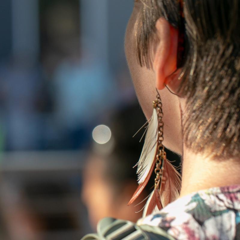 Earring by Lora Lee Chapman
