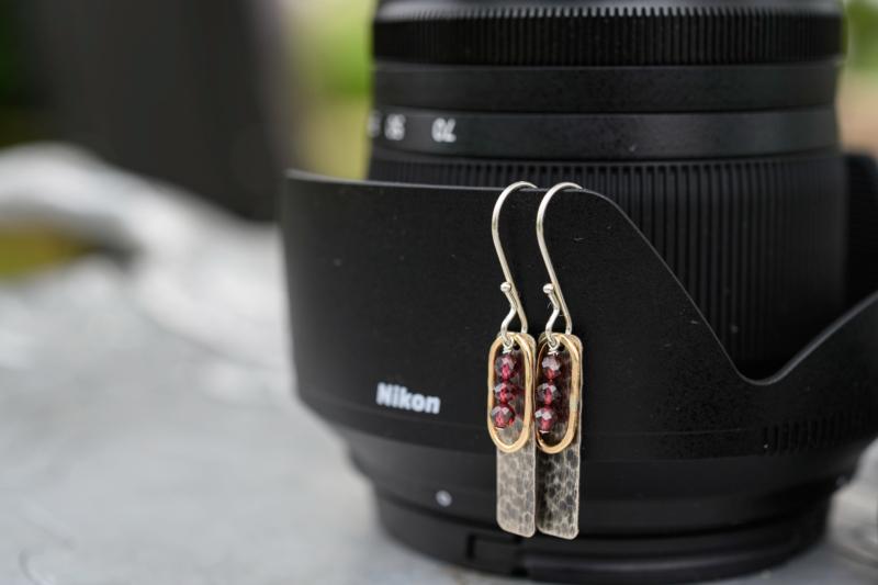 earring by ginnie lerch