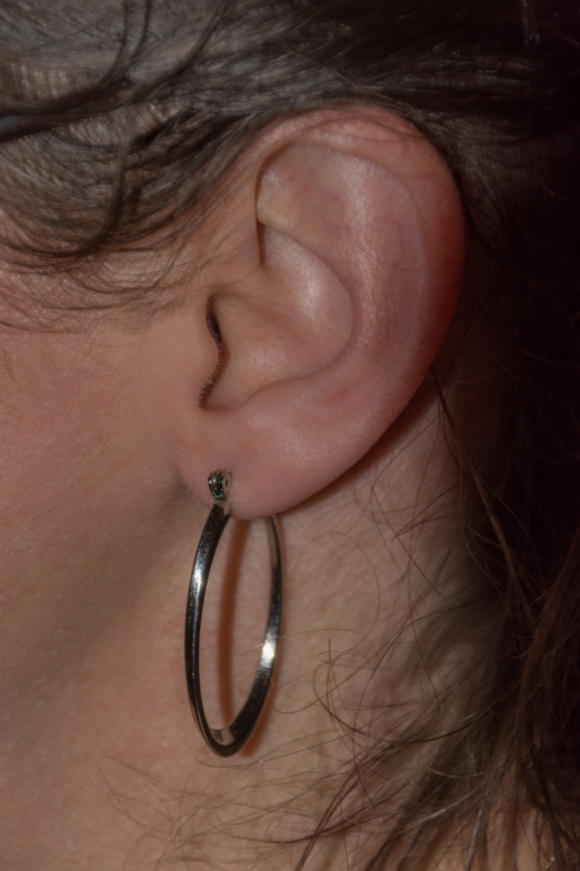 earring by giselle savoie
