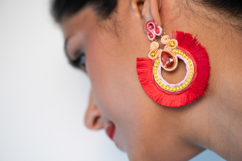 earring by jamuna burry