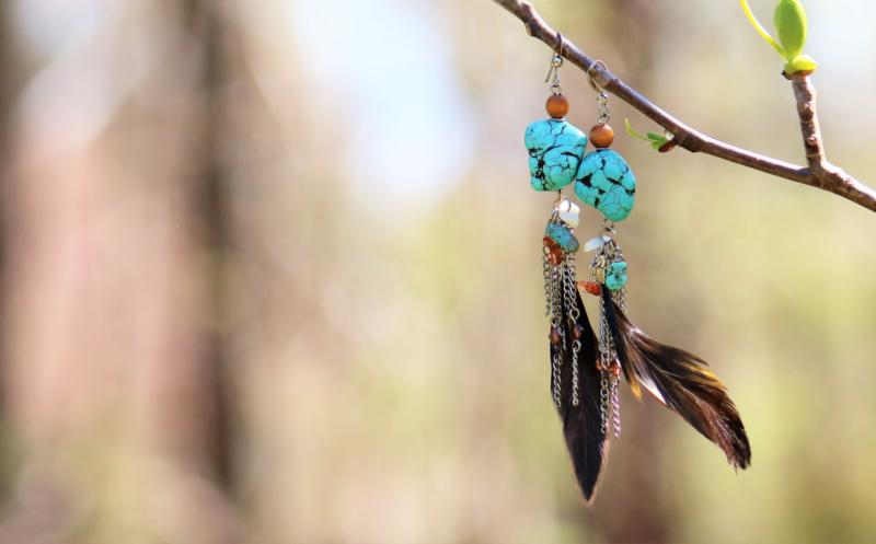 earring by marilyn benham