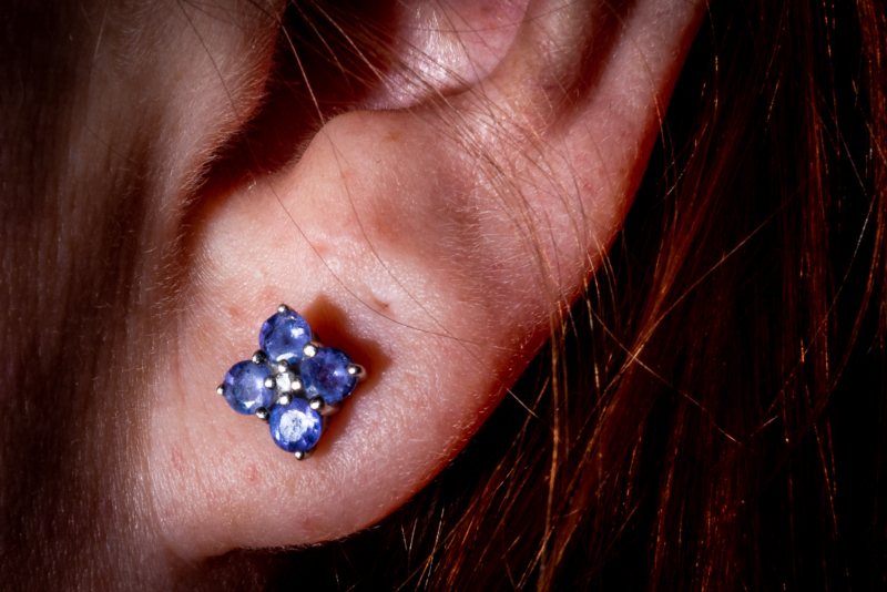 earring by mark flinders