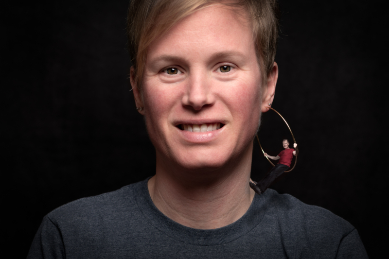 earring by paul bagley