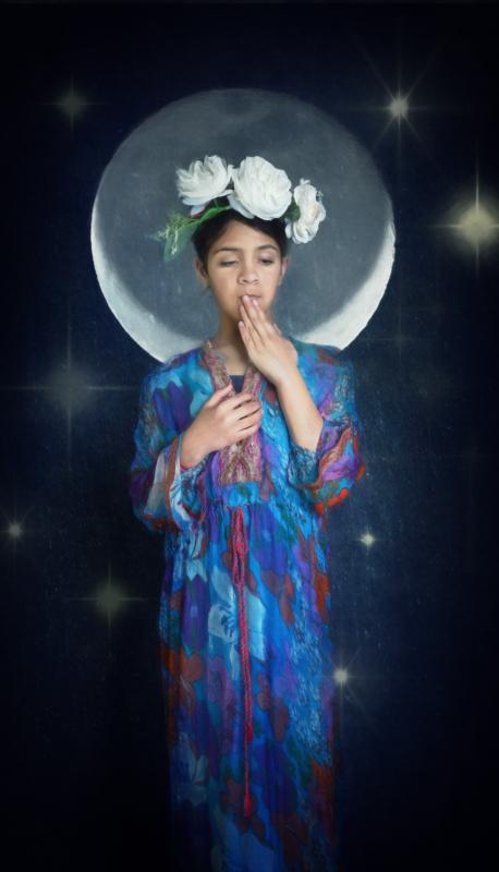 moon by joanna koziara
