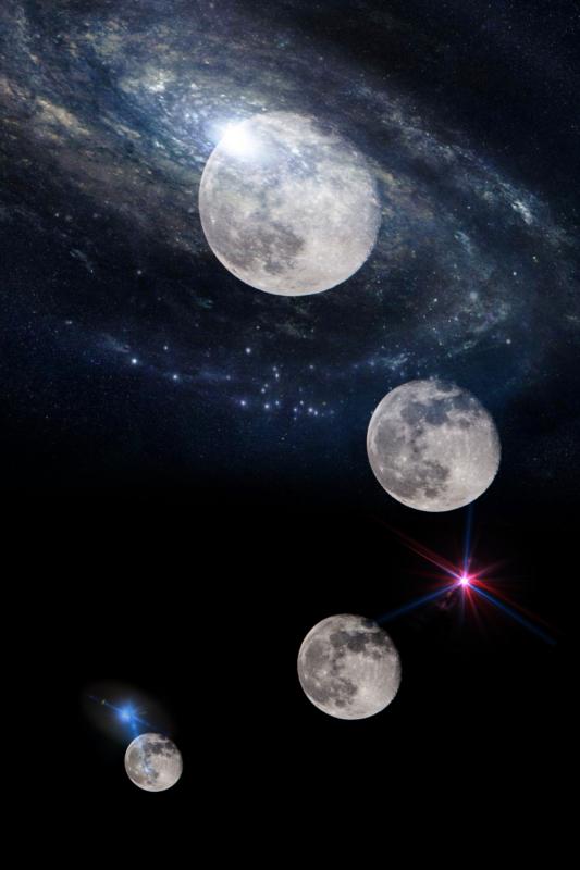 moon by melissa leda