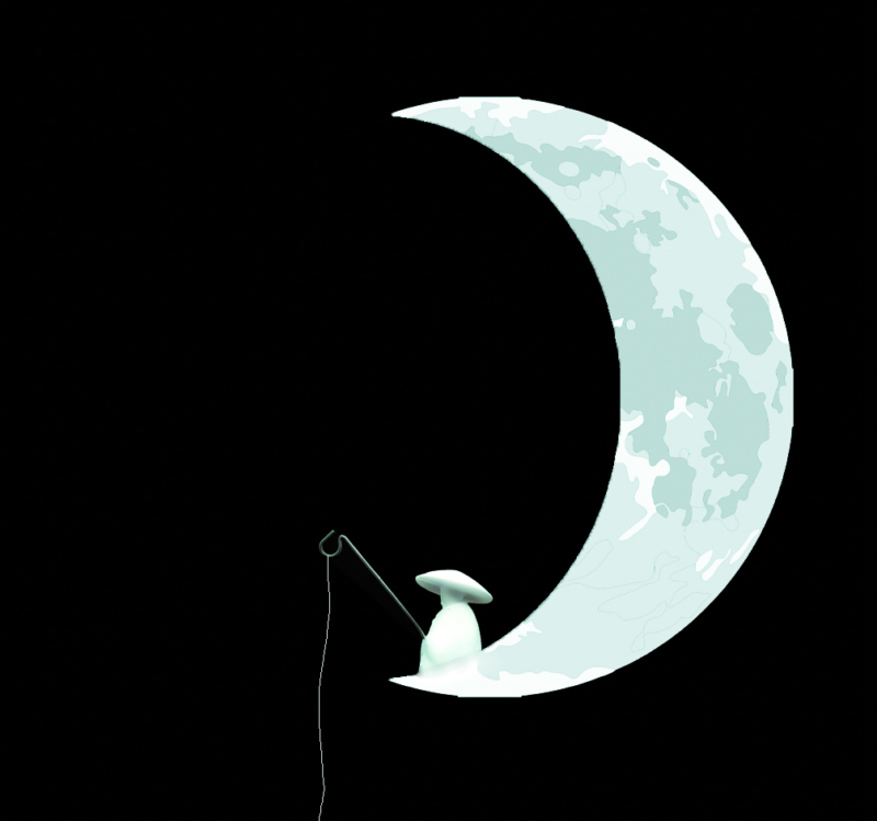 moon by traci asaurus