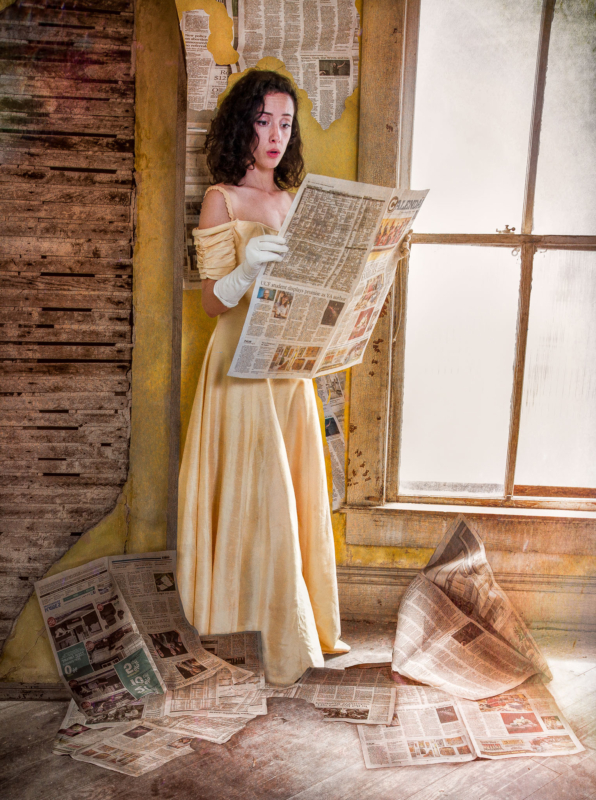 newspaper by angela migliore