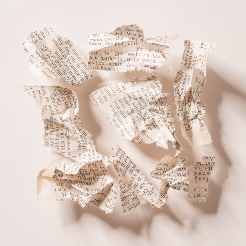 Newspaper by eric raeber