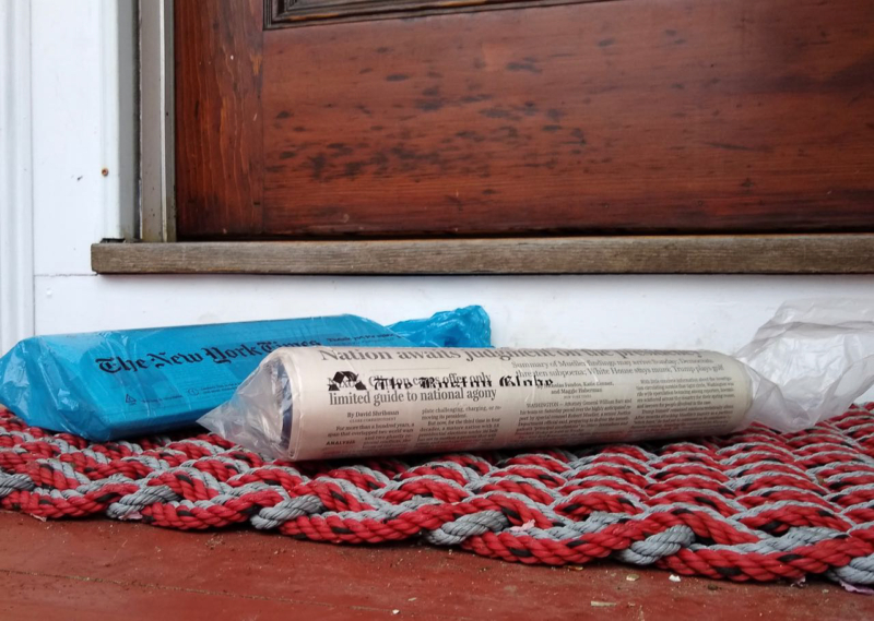 newspaper by mieke citroen